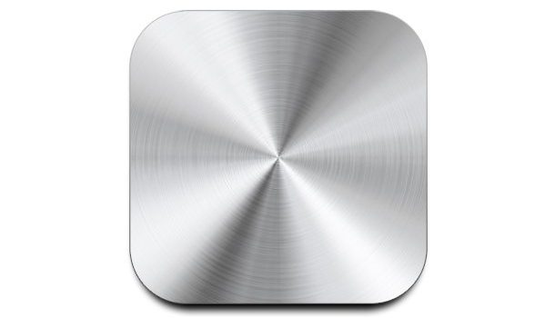 Metal button template