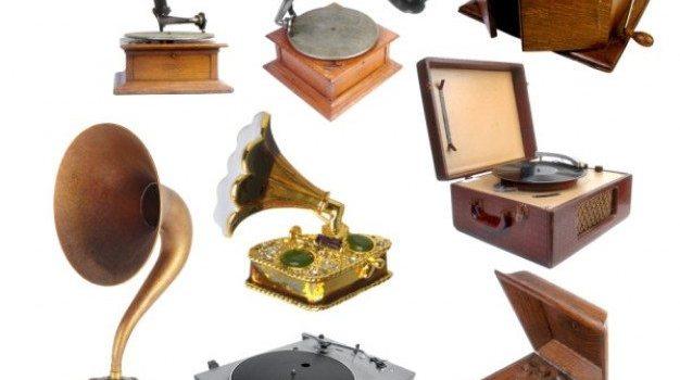 nostalgic phonograph psd
