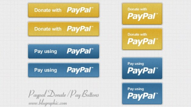 Paypal Donation and Payment Buttons