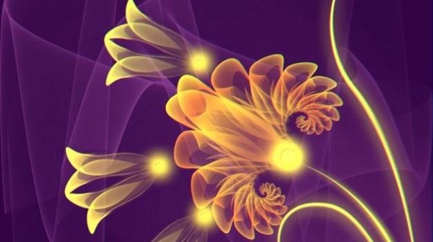ps golden flowers