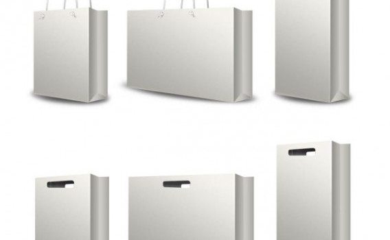 shopping bags handbag   psd layered material