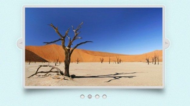 simple elegant image slider psd