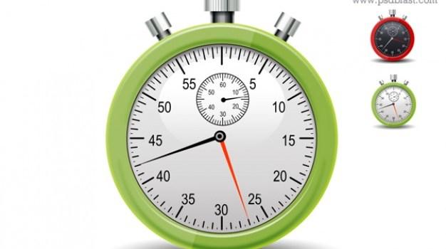 stopwatch icon psd