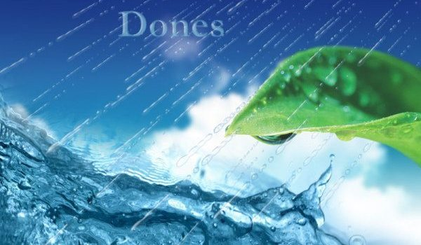 Super clear functional drops, raindrop PSD