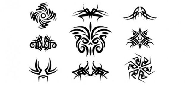 tribal logo template set