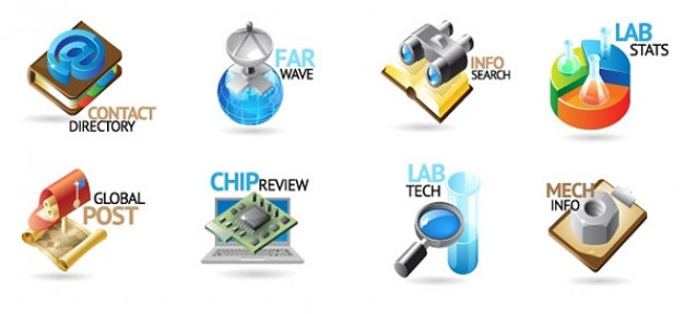 vector logo templates for business and technology