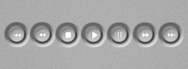 video control buttons