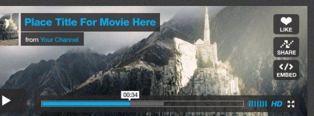 vimeo player ui kit