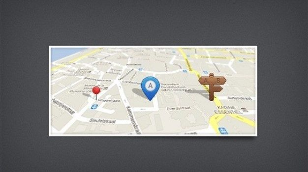web ui map marker pin styles psd
