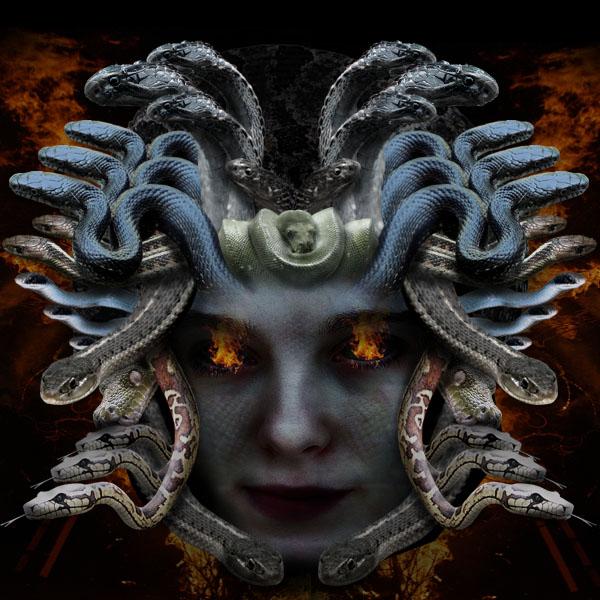 medusafinal Creating Medusa With Photo Manipulation