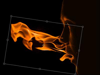 flam3b Create a Fiery Face Explosion