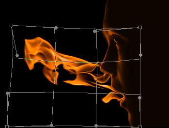 flam4e Create a Fiery Face Explosion