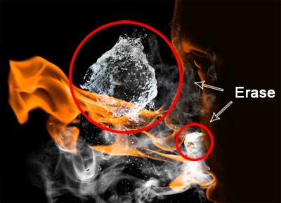 flam7a Create a Fiery Face Explosion