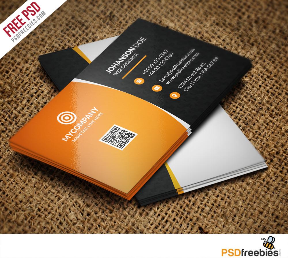 Corporate Business Card Bundle Free PSD PSDFreebies Com