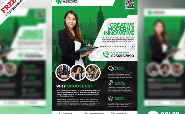 Psd Business Promotion Flyer Template Psdfreebies