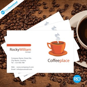 Coffee Business Card PSD