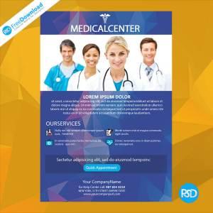 Medical Flayer Mockup PSD
