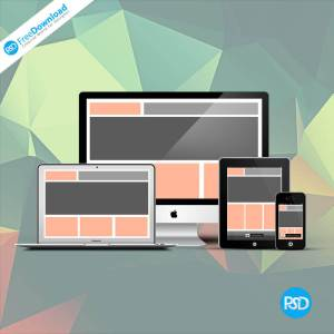 Responsive Devices PSD Mockups