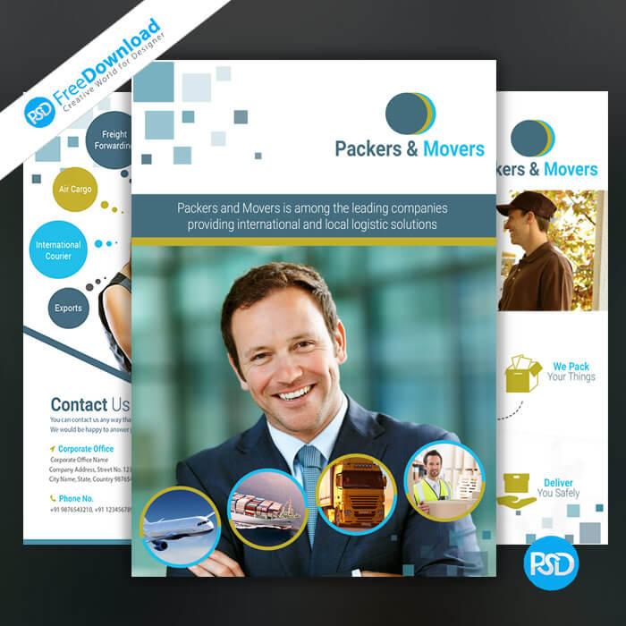 Free Corporate Brochure PSD Design