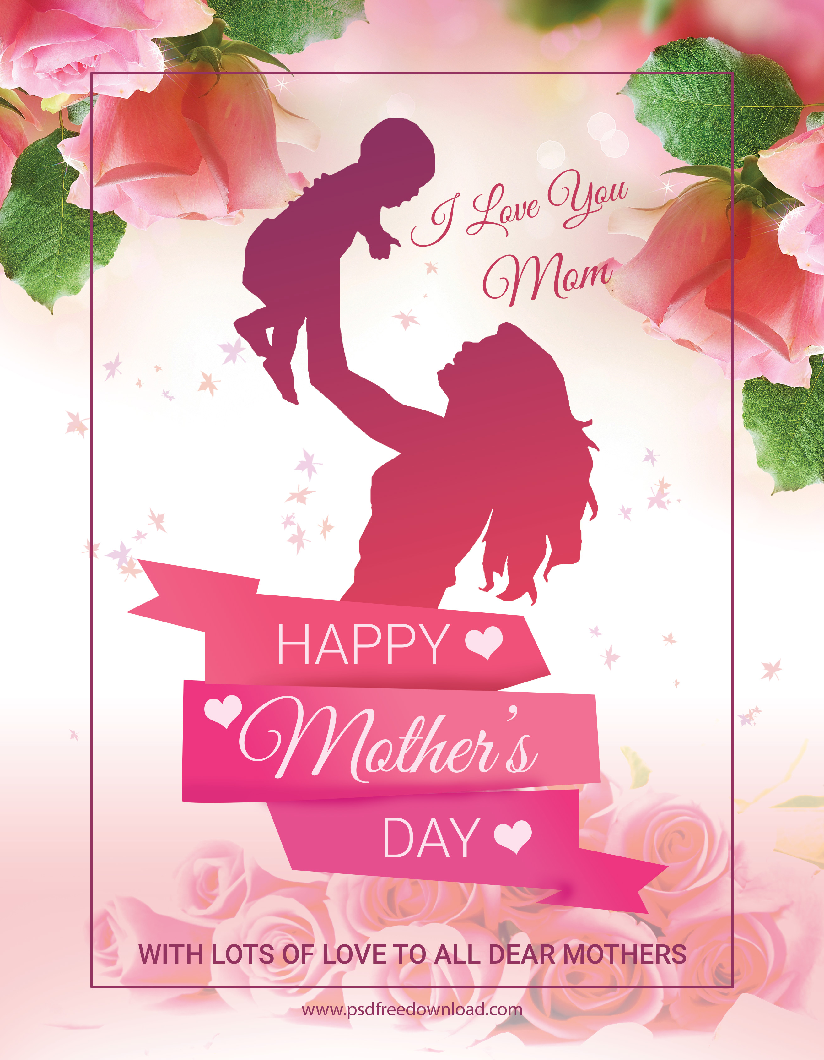 mother s day special flyer psd