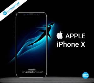 iphone X Mockup Free Psd, apple, download, free, freebie, free psd, iphone, iphone 10, iphone x, iphone x mockup, mockup, psd, phone, mobile, black,