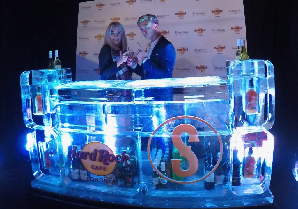 PSD Ice Art Kingsman 2 Movie Ice Bar