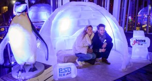 Igloo at the top of The Shard