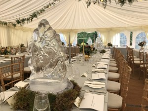 Wedding Ice Sculpture PSD Ice Art