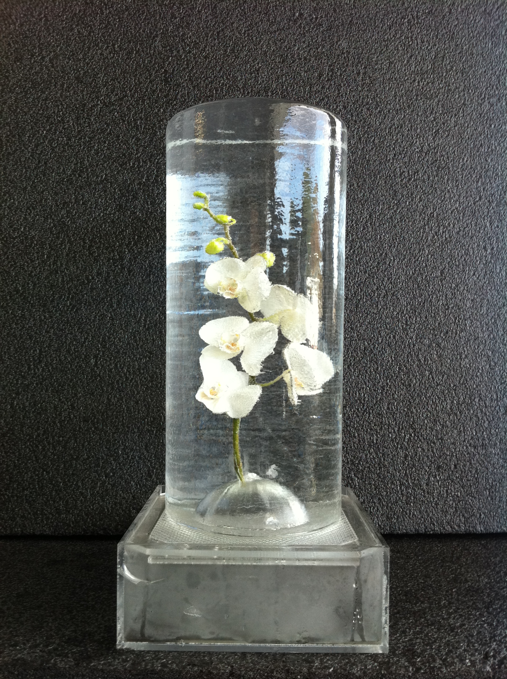 Orchid-Frozen In-Table Centre