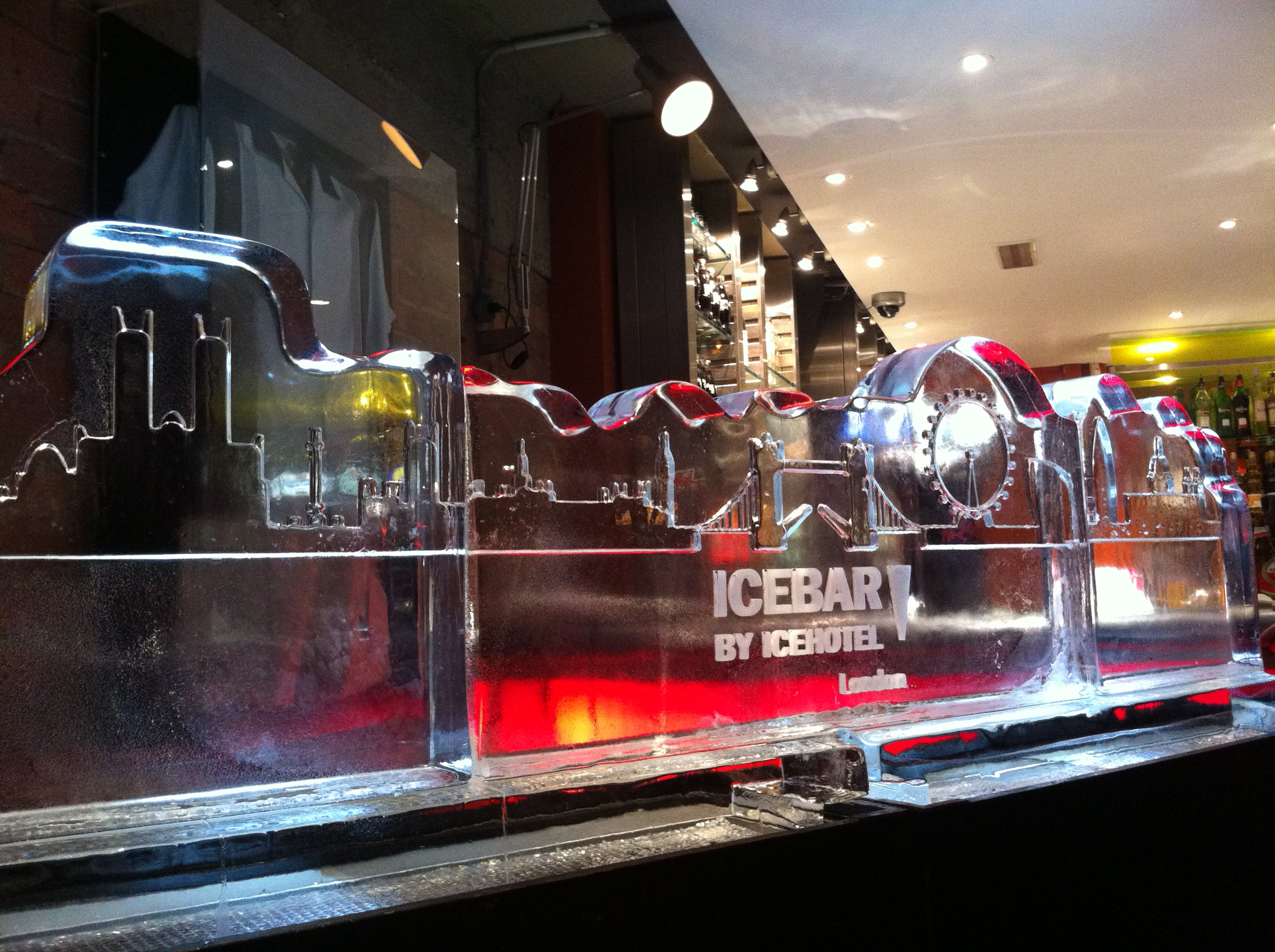The Ice Bar logo