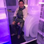 Belowzero Percy at the Ice Bar London by PSD Ice Art