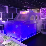 Belowzero Ice Bar London Taxi by PSD Ice Art
