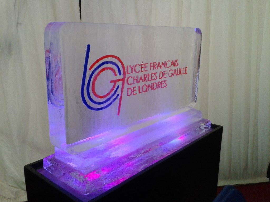 LyceeFrancaise Ice Sculpture