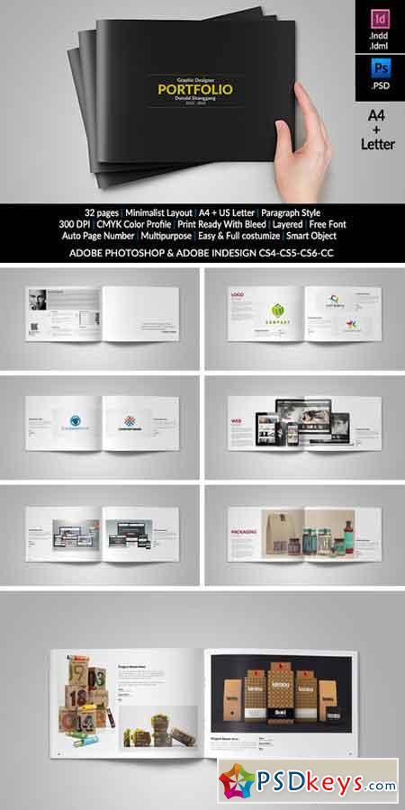 Graphic Design Portfolio Template 336440 » Free Download