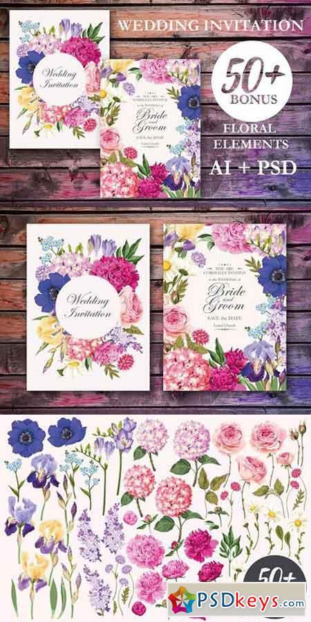 Wedding Invitations Clic Invitation Sample