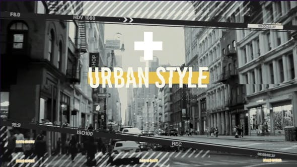 Videohive - Urban Frames - 28936927