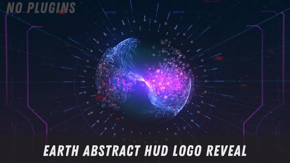 Videohive Earth Abstract Logo Reveal 29295577