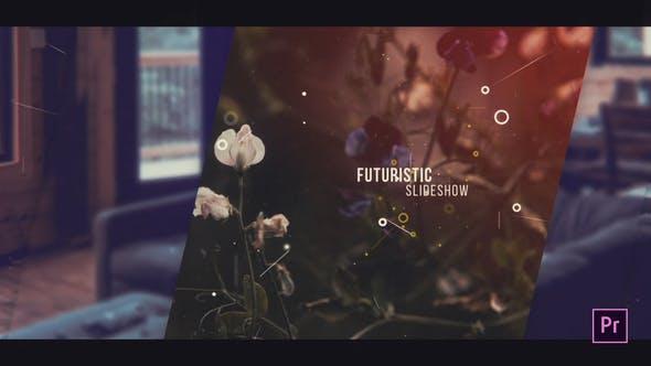 Videohive - Futuristic Slideshow For Premiere Pro - 28382612