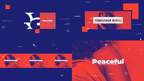 Videohive Peaceful Abstract Intro 26709152