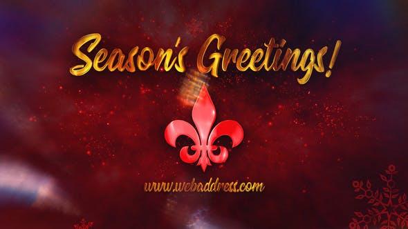 Videohive Christmas Holiday Greetings 29466316