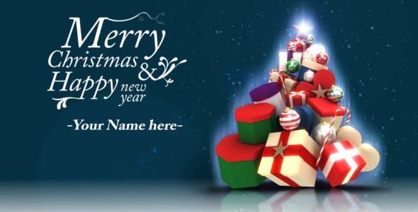 Videohive Christmas Greeting Card Opener 3639601