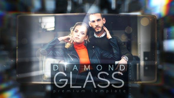 Videohive Diamond Glass 29383544