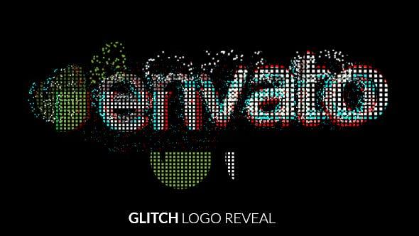 Videohive Fast Glitch Logo Reveal 18797171