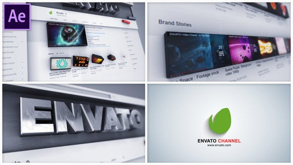 Videohive Youtube Channel Intro 28833108