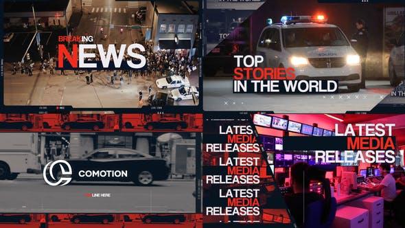 Videohive Breaking News Intro 29462354