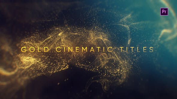 Videohive Gold Cinematic Titles Mogrt 23260042