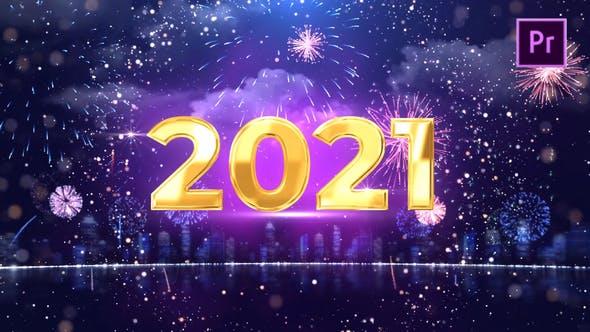 Videohive New Year Countdown 2021 Premiere Pro 29337962