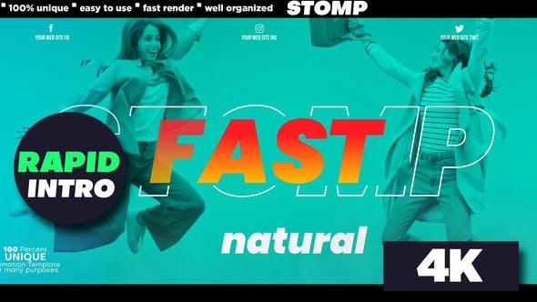 Videohive Stomp - Rapid Intro 29282587
