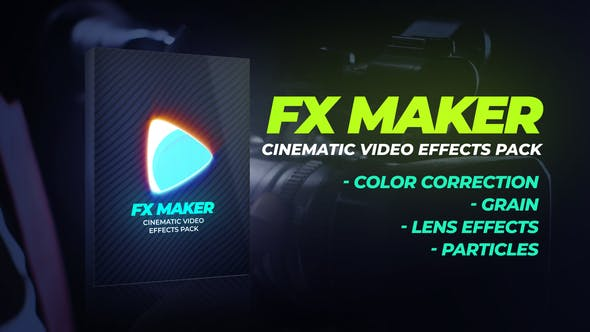 Videohive - FX Maker Video Effects Pack - 28838735