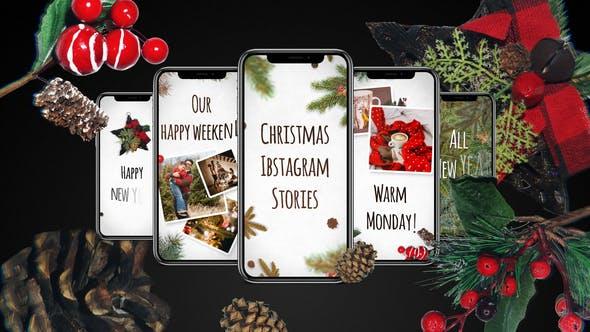 Videohive Christmas Instagram Stories 29480659